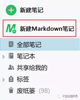 Markdown图标